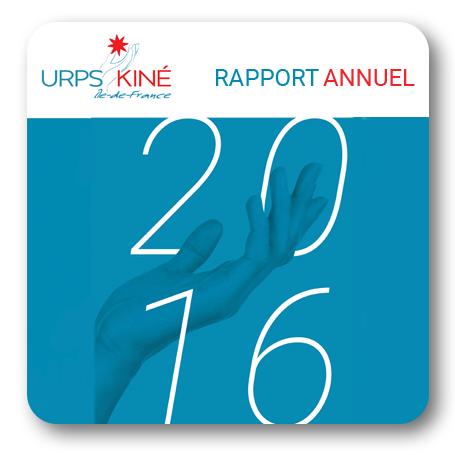 Rapport activité 2016 URPS kiné libéral